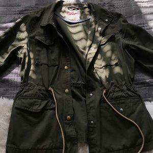 Green Levi's Jacket